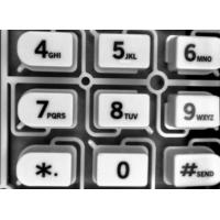 China Moisture Proof Silicone Rubber Membrane Keyboard Switches For Security Systems on sale