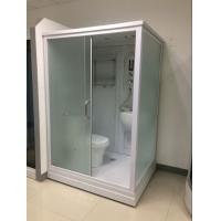 Buy cheap Square Complete Shower Enclosures Shower House With Washroom / Mirror / Toilet from wholesalers