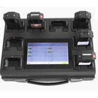 Buy cheap 220V 8 Ports Data Management Usb 2.0 Docking Station With 7 Inch Display product