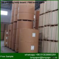 Buy cheap one side ivory board /fbb paperboard making machine for printing all box from wholesalers