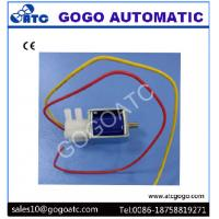 Buy cheap 2mm Port 3 Way Miniature Solenoid Air Valve Lead Wring Type DC 6V 12V 24V Rated Voltage from wholesalers