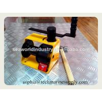 Buy cheap Worm gear Hand Winch lifting from wholesalers