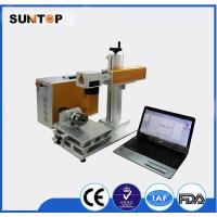 Buy cheap Rolling Pipe round tube laser marking machine customized long lifetime from wholesalers