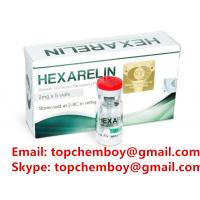 Buy cheap 99% Purity Hexarelin Peptide , Body / Muscle Building Peptides CAS 140703-51-1 from wholesalers