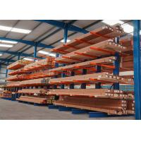 Buy cheap Durable single side/double side structural cantilever rack for long steel pipes from wholesalers