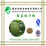 Buy cheap Factory supply Good quality Natural Fruit extract powder 10:1 Graviola Extract from wholesalers