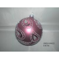 Buy cheap Glass ball ornament from wholesalers