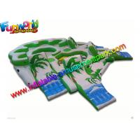 Buy cheap 0.6mm  / 0.9mm PVC Tarpaulin Inflatable Water Toys Water Sofa Custom Made from wholesalers