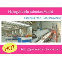 WPC extrusion mould produce line   PVC greatwall panel China