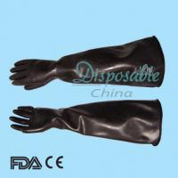 Buy cheap Industrial latex gloves/cleaning gloves/heavy duty latex gloves from wholesalers