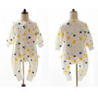 Buy cheap 100% Cotton Printed Muslin Baby Pajamas Comfortable Absorbent For All Seasons from wholesalers