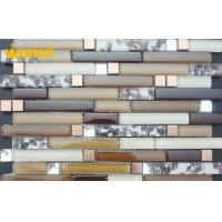Buy cheap Residential Acid - Resistant Shell Mosaic Tile With Glass And Ceramic from wholesalers
