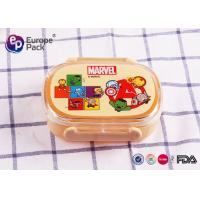 Buy cheap Light Weight Recycled Healthy Kids Plastic Lunch Boxes PP Material from wholesalers