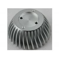 Buy cheap Anodized CNC Aluminium Parts , LED Bulb Light Stamped / Extruded Heat Sink from wholesalers