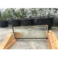 Buy cheap Small Kitchen Cabinet Glass / Bevelled / Polished Glass A Balance Of Elements from wholesalers