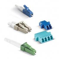 Buy cheap Plug Type SM Fiber Optical Connector LC / PC For Optical Communication Equipment from wholesalers
