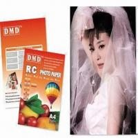Buy cheap A4 Resin-coated Photo Paper, Waterproof, Absolutely Flat and Smooth from wholesalers