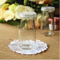 Buy cheap 200ml glass milk bottle for yogurt storage containers from wholesalers