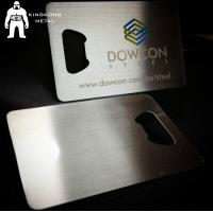 Buy cheap Metal Beer Bottle Opener Business Card ,  Poker Card Bottle Opener  Promotional product