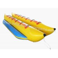 Buy cheap Commercial Double Row Inflatable Banana Boat Towables For Adults / Kids from wholesalers