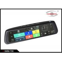 Buy cheap Android 5.0 Car Rearview Mirror DVR Full HD 1080P Dual Camera WIFI GPS G-sensor Recycle Recording product