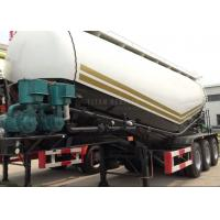 Buy cheap TITAN VEHICLE air compressor bulk cement transport truck 3 axle cement bulker for sale in pakistan from wholesalers