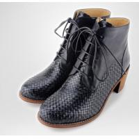 Buy cheap Fashion women high heel ankle boot sexy women metal decoration lace up boot from wholesalers
