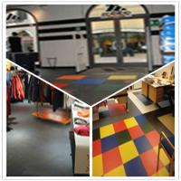 Buy cheap 3W Plastic Vinyl PVC Anti-slip Interlocking Shoping flooring Mats from wholesalers