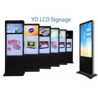 Buy cheap Interactive Touch Screen Digital Signage Kiosk 55 Inch For Exhibition Halls from wholesalers