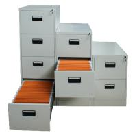 Buy cheap 4 Drawer Steel Vertical Filing Cabinet from wholesalers