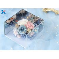 Buy cheap Light Weight Mirror Acrylic Flower Box For Dry Fresh Flowers Non Flammable from wholesalers