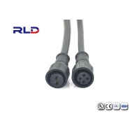 Buy cheap M6/M8/M12 Straight Plug IP67 Waterproof Cable Connectors Male Female 22-16AWG from wholesalers