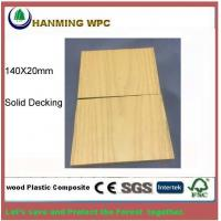 Buy cheap 140X20mm WPC Solid outdoor decking from Changxing Hanming Technology Co.,LTD from wholesalers