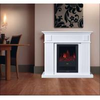 Buy cheap log burning flame electric fires stoves fireplace heater EF342B elektrische sfeerhaard firebox with mantel room heater from wholesalers