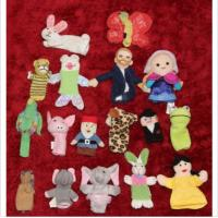 Buy cheap 17 Finger Plush Hand Puppets Pottery Barn With Kids Restoration Hardware / LB Kids Crochet from wholesalers