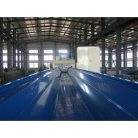 Buy cheap 914 - 610 Long Span Roll Forming Machine , 45# Steel Roll Forming Equipment from wholesalers