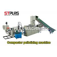 Buy cheap Single Screw Extruder Pellet Machine For BOPP Films / Bags Highly Efficient from wholesalers