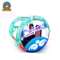 Buy cheap Leswing Travelling Amusement Park Bumper Cars Colorful Rotation Type from wholesalers