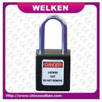 Buy cheap New Style Heat and Low Temperature ,Stainless Steel Shackle, ABS Padlock from wholesalers