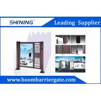 Buy cheap Entrance Automatic Swing Gate With LED Light For Apartment Entrance Advertising from wholesalers