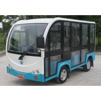 Buy cheap 6 Seats Electric Sightseeing Car Golf Cart Tour 110v Customize Color from wholesalers