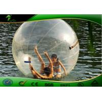 Buy cheap Giant Human Water Walking Ball Inflatable Water Toys For Lake / Hamster Water Balls from wholesalers