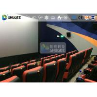 Buy cheap CE Approval 4D Digital Cinema Equipment With Curved Screen / HD Projectors product