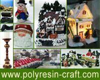 China Polyresin Craft-Christmas Village Houses on sale
