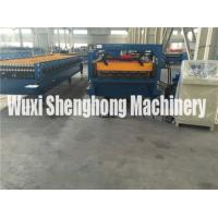 Buy cheap Floor Deck Automatic Forming Machine with Run Out Table / Auto Stacker from wholesalers