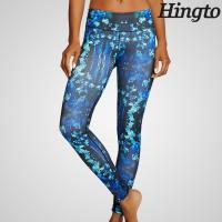 Buy cheap Breathable Womens Yoga Wear / Tall Womens Yoga Pants With Anti - Bacterial from wholesalers