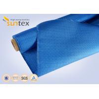 China Colored Fiberglass Cloth Fire Resistant Fiberglass Fabric For Hospital Fire Control on sale
