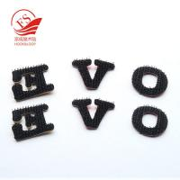 Buy cheap Nylon Hook Loop Printed Alphabet Letters For Clothing , Reusable & Durable from wholesalers