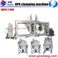 Buy cheap Double-station APG clamping machine Epoxy resin pressure gel molding machine from wholesalers