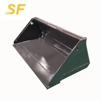 Buy cheap Hot sale construction machinery attachments,skid steer loader parts standard bucket for unloading materials from wholesalers